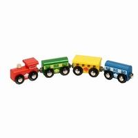 Trein 4-delig standaard; Mentari 6611