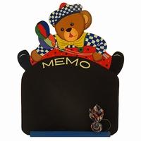 Memo / Schoolbord beer rode broek