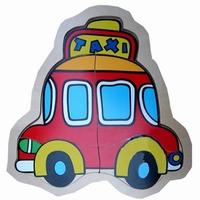 Legpuzzel auto / taxi; 3 stukjes