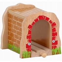 Tunnel enkel spoor rode stenen; Mentari 6749