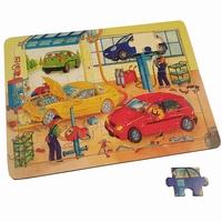 Legpuzzel auto reparatie garage