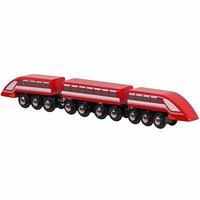 Hogesnelheidstrein 3-delig rood; Mentari 6644R