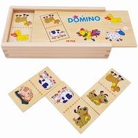 Domino boerderijdieren haan 28-delig; Playwood