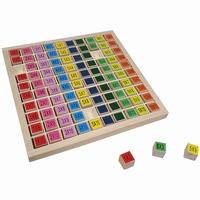 Tafel / Reken spel kleur; 37635